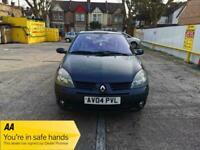 2004 Renault Clio 1.2 16v Dynamique 5dr +Petrol +ULEZ +Cheap Insurance