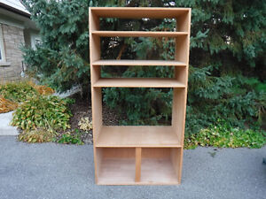 """now $35, Custom made Bookcase, 4 shelves, 35""""wX23""""X69""""T,"""