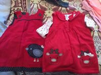 Box of 6-9 months clothes girl