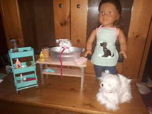 Dog and Pet Grooming Salon for 18 inch dolls