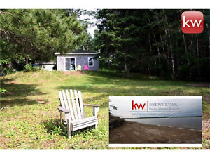 WATERFRONT COTTAGE with additional WATERFRONT LOT