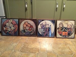 Musical Quartet Framed Art