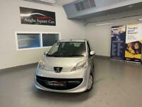 PEUGEOT 107 URBAN Silver Semi-Auto Petrol, 2008, ONLY 57,000 Miles ONLY £20 TAX
