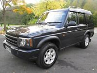 04/04 LAND ROVER DISCOVERY PURSIT 4X4 TD5 7 SEAT WITH ONLY 73,000 MILES