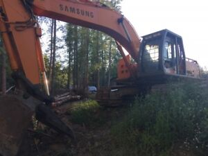 1999 Samsung MX 295 Excavator