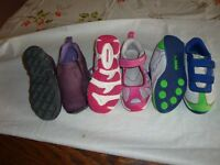T2J 3P7 AREA  PUMAS,MERRELS Runners  SZ 13 Lots of kid's stuff,