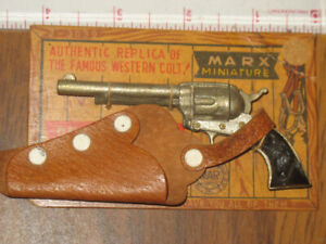 Miniature Mar Toys Made in Japan Marx Six Shooter