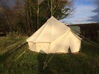 Bell tent parties