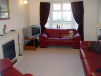 2 & 3 Seater Red Leather Settees plus Armchair and Matching Stool