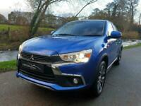 2017 '67' MITSUBISHI ASX '3' FINISHED IN LIGHTNING BLUE. ONLY 22,300 MILES.