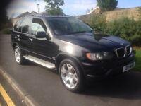 2003 53 BMW X5 3.0 D SPORT FULLYLOADED DVD TV PARKING SENSORS XENON LIGHTS ETC 4x4