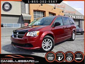 Dodge Grand Caravan SXT DVD, CAMÉRA, STOW N' GO, HAYON ET PORTE