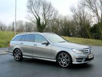 Mercedes-Benz C350 3.0CDI ( 261bhp ) ( COM ) 7G-Tronic Plus 2013MY CDI AMG Sport