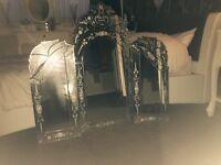 Large Venetian triple dressing table mirriors