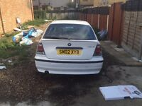 QUICK SALE- BMW 316ti 2002 COMPACT
