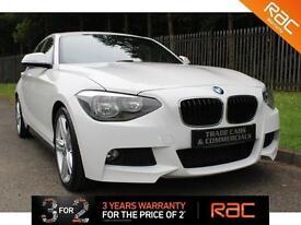 2012 62 BMW 1 SERIES 1.6 116I M SPORT 5D 135 BHP