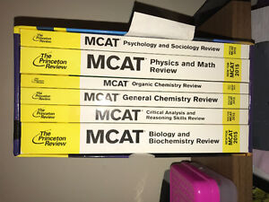 MCAT BOOKS and FLASHCARDS