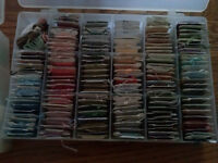 Huge lot of DMC floss and containers