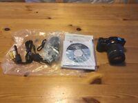 Panasonic LUMIX DMC GF3 digital camera with 14-42 lens