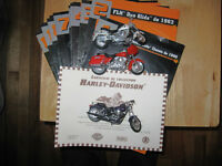Collection de miniatures HARLEY-DAVIDSON