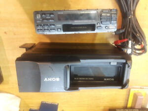 Sony 10 Disc Player and Deck