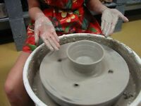 Make Pottery on the Wheel 3 spaces left