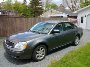 TITLE: FOR SALE - 2006 - GREY FORD 500 - 1600$CAD OBO