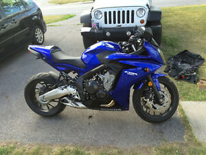 2014 CBR 650F with only 2742 Km