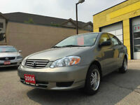 2004 TOYOTA COROLLA. FRESH SAFETY!!!ONE OWNER!!! SUPER CLEAN!!!