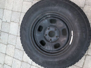 Used General Altimax winter tires 5 bolt 265/70 r17 $1200 OBO