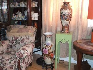 two Tall Vases
