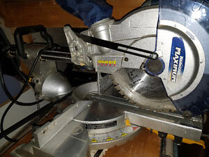 Maximum Sliding Compound Laser Mitre Saw - 12 inch blade Cambridge Kitchener Area image 3