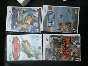 Wii hunting and fishing games