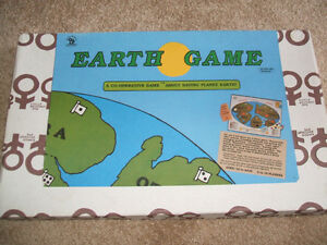 The Earth Game (Cooperative Strategy Game)-1984