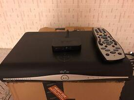 Sky HD Box plus sky wifi box