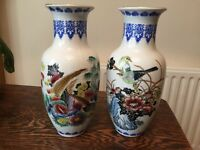 Two vintage China vases