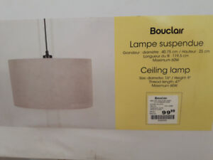 Hanging Lamp -  new in box.