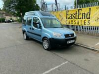 FIAT DOBLO HIGH ROOF ready to convert to mobile home A/C fsh 1yr MOT lots of ex