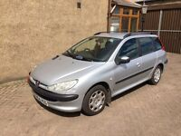 PEUGEOT 206 SW 1.4 (04) MOT 24/4/17 , TRADE IN TO CLEAR £495
