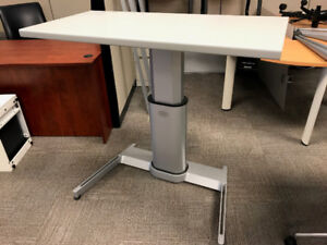Height Adjustable Desk made by Steelcase $950