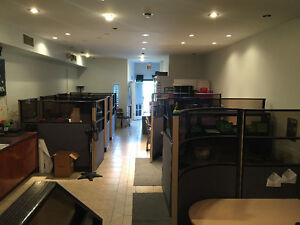 CMMERCIAL store or OFFICE SPACE FOR RENT 1000 SF+1000sf,Basement