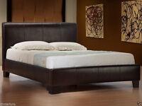 BNIB King bed with Deluxe Memory Foam mattress