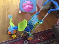 Tricicle- First bike for toddler