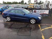 Mercedes CLK years mot low miles with warranty