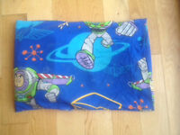 Cot/toddler bed bundle- toy story & alien theme
