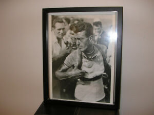 Old Photos of LOUISON BOBET & HENRY ANGLADE beautifully framed