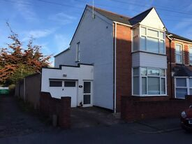 3 Bed large bay fronted house. Garage/workshop.