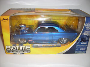 Bigtime Muscle 1967 Chevy Nova SS hardtop diecast 1:24