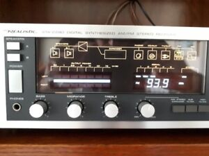 Vintage Realistic receiver and 3 way speakers