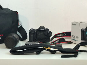 CANON EOS 80D   |   EF-S 18-135 IS USM   |  ACCESSORIES